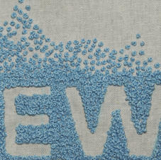 Scattered French Knots