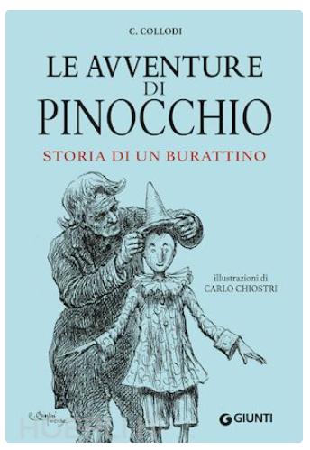 Livro Pinocchio