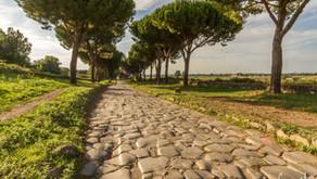 Um caminho que te leva a Roma