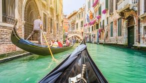 A magia dos canais de Veneza