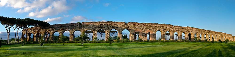 aqueduto em Roma