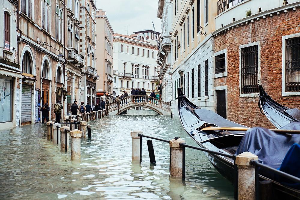 enchente em Veneza