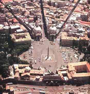 il tridente em Roma