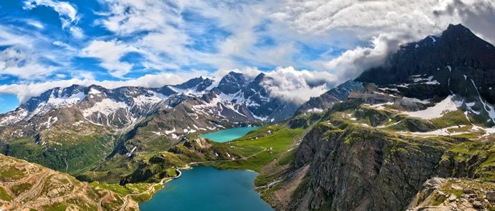 As belezas naturais italianas