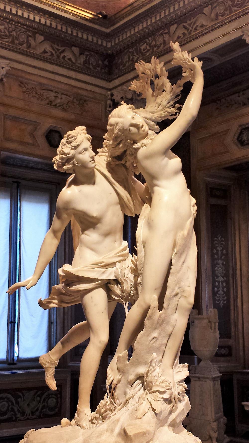 escultura de Bernini na galleria borghese