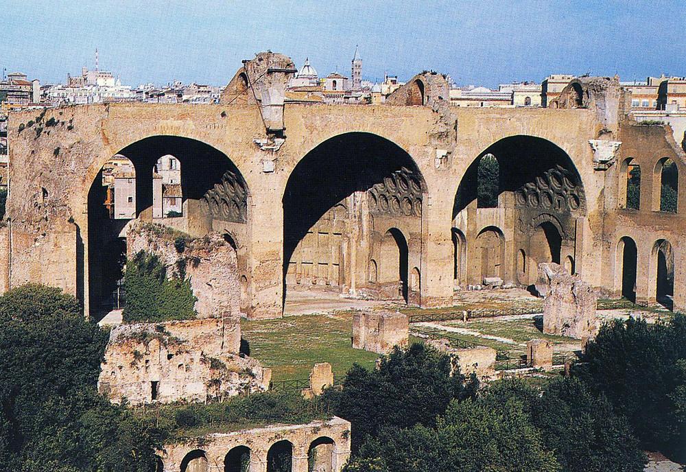 Basilica de Massenzio e Constantino