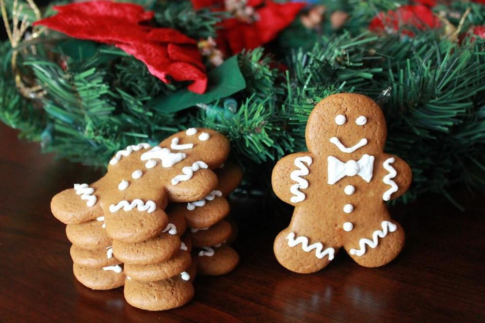 biscoitos de gengibre