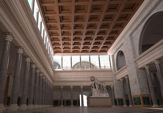 Interior Termas de Caracala