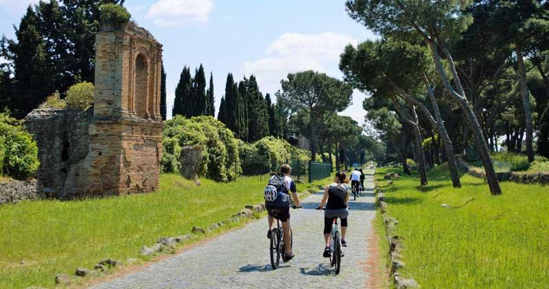 Bici Appia Antica