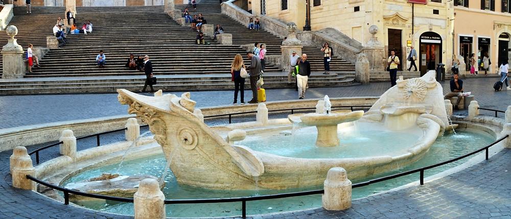 fontana della barcaccia roma