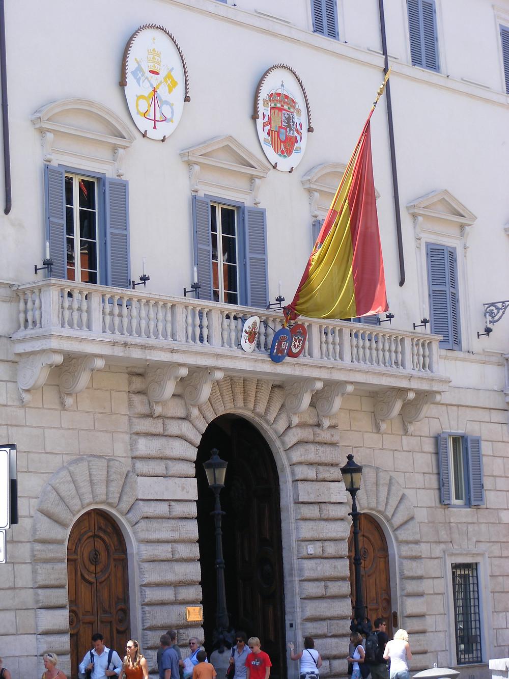 embaixada espanha em roma