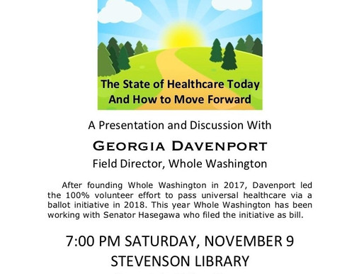 The path to Universal Health Care in Washington State
