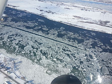 Le St Laurent en hiver