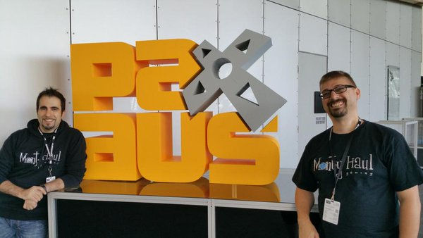 Frank and William at Pax Aus Australia