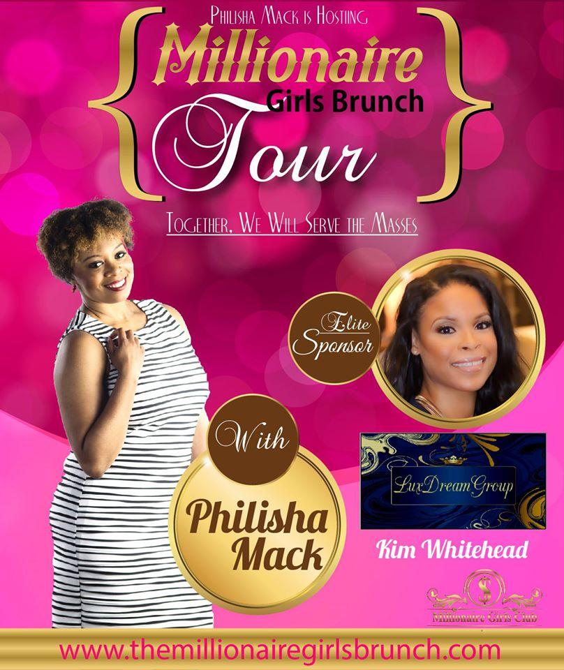 Event Sponsor Card - Millionaire Girls Brunch