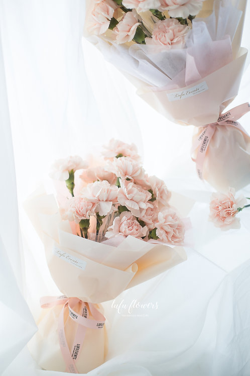 LF Cherry Blossom Carnation Bouquet