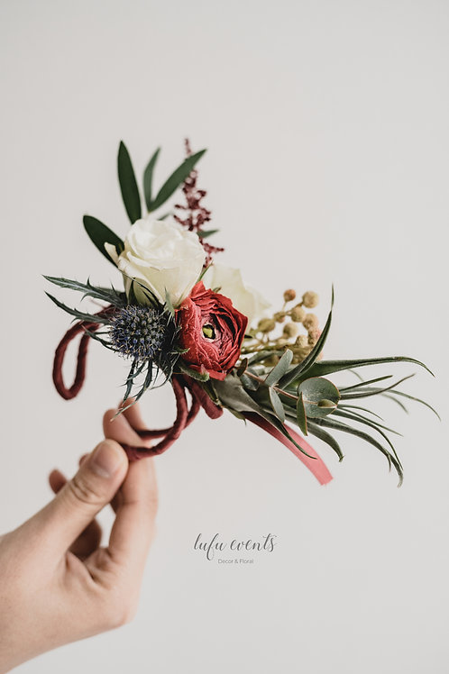 LF Corsage and boutonniere