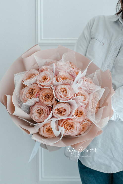 LF Shimmer pink bouquet