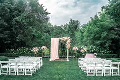 Arch for ceremony