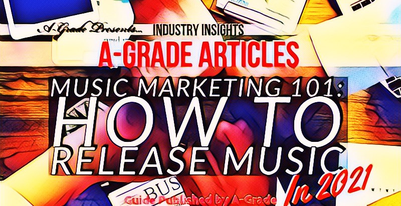 Music Marketing 101: How to release music