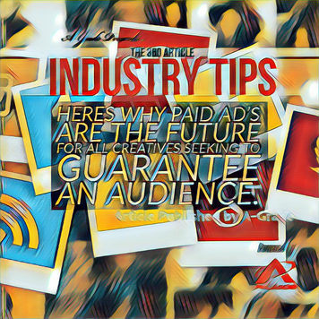 Articles : Here's the reason why paid ad's (PPC) will be the future for all creatives