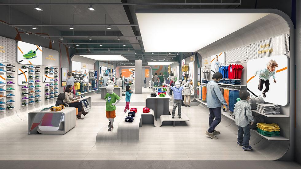 Atheticwear Childrens Store | Beijing, China