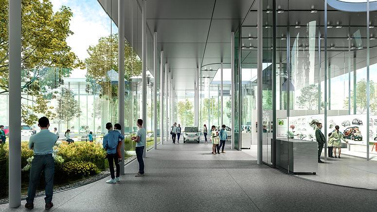 EV Experience Center | Liuzhou, China