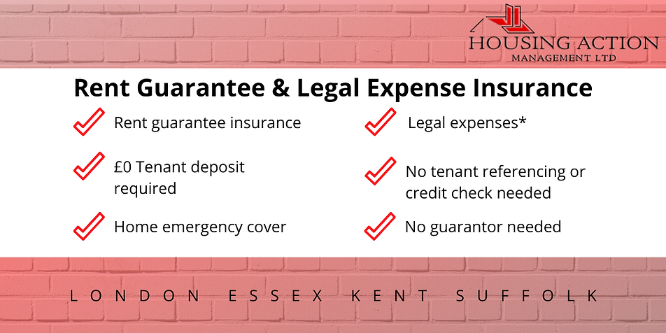 Rent Guarantee & Legal Expense Insurance