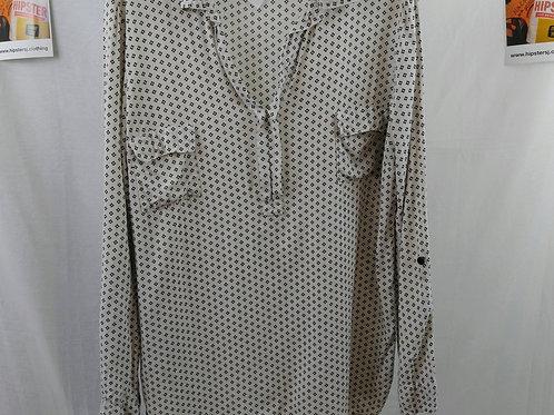 Splendid Casual Blouse W/ Collar