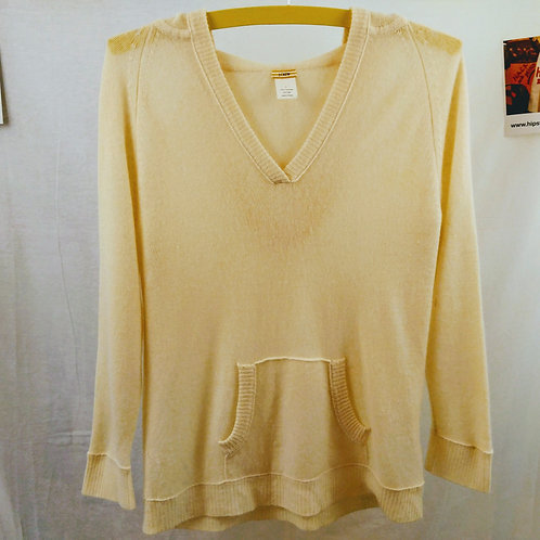 J Crew Cashmere w/Hoodie Pullover