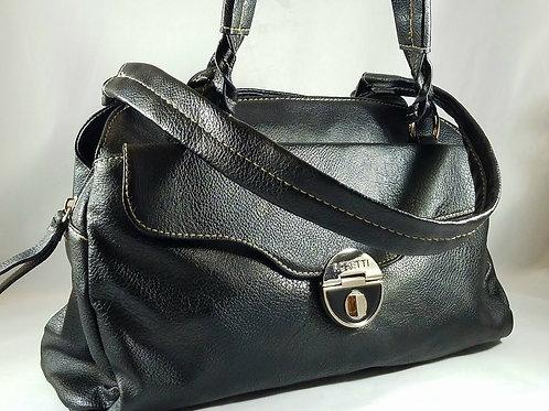 Rosetti black satchel bag