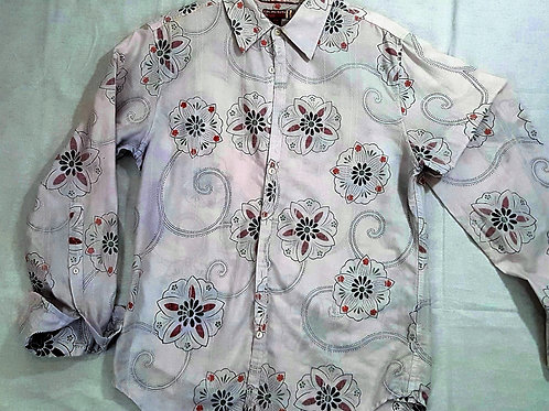 Guess Men's Y2K Vintage Shirt