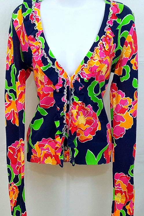 Lilly Pulitzer Floral Cardigan