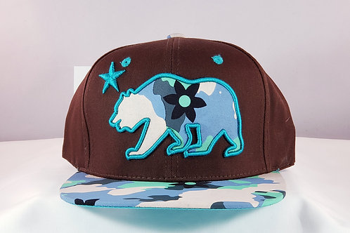 TH+ Bears and  Camouflage Snapback