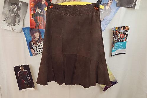 Cabi Suede Skirt