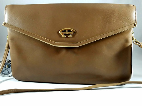 Etienne Aigniers Classic hand made leather handbag