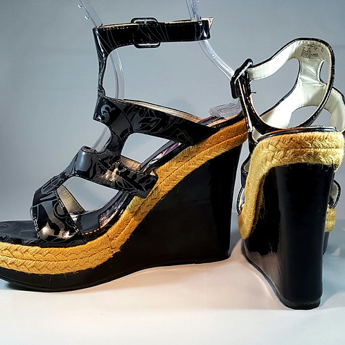 Ed Hardy High platform shoes