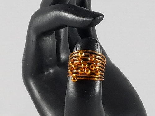 Women's Rings Wired dots
