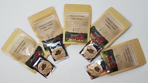 Sample Pack with CBD treat sample