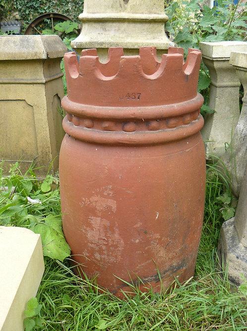 Red Chimney Pot