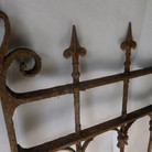 Cast and wrought iron Victorian gate 2