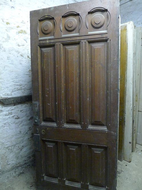 Victorian Arts and Crafts Wooden Door
