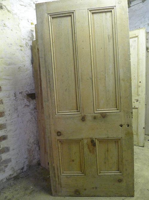 Four Panel Pine Victorian Door