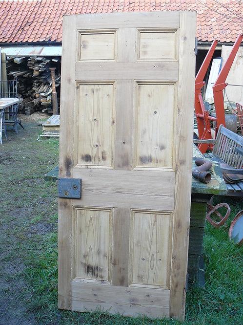 Pine Six Panel Door