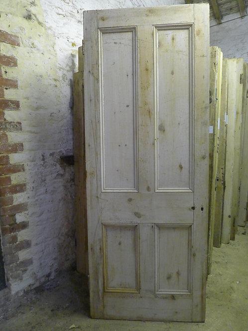 Victorian Four Panel Beaded Door