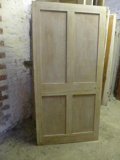 Plain Georgian Four Panel Door