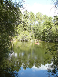 Les Amandiers lake (1)
