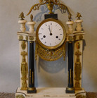French marble mantle clock 1