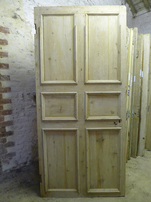 Mid Georgian Six Panel Classical Door