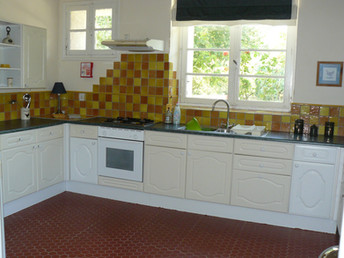 Kitchen Large Apartment